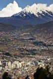 Stad av La Paz - Bolivia Arkivfoto