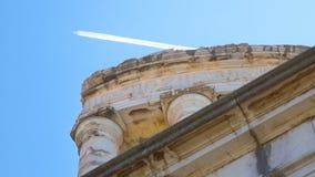 Stad av La Turbie royaltyfri foto