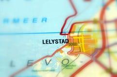 Stad av Lelystad - Nederländerna Royaltyfri Fotografi