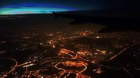 Stad av ljus Royaltyfria Foton
