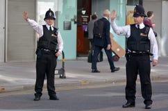 Stad av London poliser Arkivbild