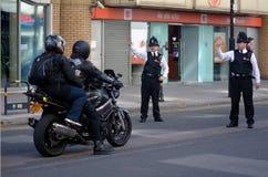 Stad av London poliser royaltyfri foto