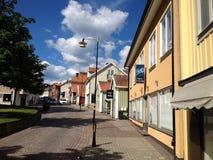 Stad av Mönsterås 6 Arkivbild