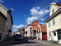 Stad av Mönsterås Royaltyfri Bild