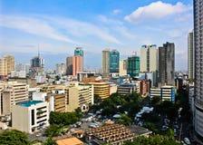 Stad av Manila Arkivfoton