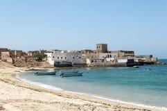 Stad av Mirbat, Salalah, Mirbat, Oman Royaltyfri Foto