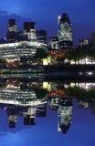 Stad av moderna London, UK Royaltyfri Fotografi