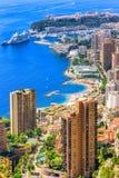 Stad av Monte - carlo, Monaco Arkivbilder