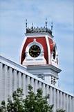 Stad av Montpelier, huvudstad, Washington County, Vermont New England Förenta staterna huvudstad arkivbild