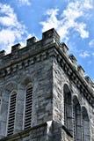 Stad av Montpelier, huvudstad, Washington County, Vermont New England Förenta staterna huvudstad arkivbilder