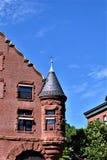 Stad av Montpelier, Vermont huvudstad, Washington County, Vermont, Förenta staterna USA arkivfoton