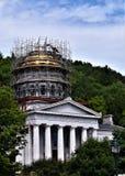 Stad av Montpelier, Washington County, Vermont, Förenta staterna, huvudstad royaltyfria bilder