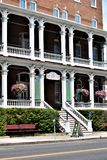 Stad av Montpelier, Washington County, Vermont New England Förenta staterna huvudstad Arkivbild