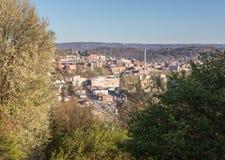 Stad av Morgantown i West Virginia Arkivbild