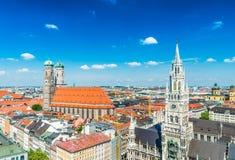 Stad av Munich, Tyskland arkivfoton