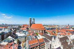 Stad av Munich, Tyskland royaltyfria bilder