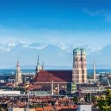 Stad av Munich, Tyskland fotografering för bildbyråer
