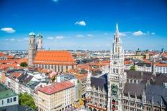 Stad av Munich, Tyskland royaltyfri bild