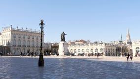 Stad av Nancy, Frankrike arkivfilmer
