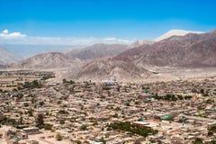 Stad av Nazca, Peru Royaltyfri Fotografi