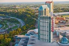 Stad av Niagara Falls, Ontario Kanada Arkivbild