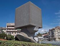 Stad av Nice - fyrkantigt huvud Royaltyfria Bilder