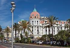 Stad av Nice - hotell Negresco Royaltyfri Fotografi