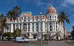 Stad av Nice - hotell Negresco Royaltyfri Foto
