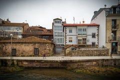 Stad av norden av Spanien Royaltyfri Bild
