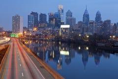 Stad av Philadelphia. Arkivfoton