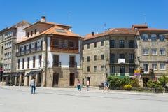 Stad av Pontevedra Spanien Fotografering för Bildbyråer