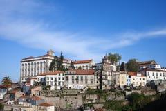 Stad av Porto horisont i Portugal Royaltyfria Bilder