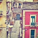 Stad av Ragusa Royaltyfri Foto