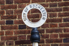 Stad av Rochester i Kent Arkivfoton
