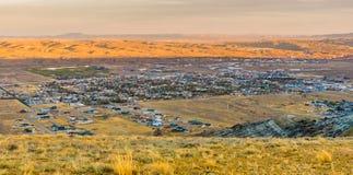 Stad av Rock Springs, Wyoming Arkivbild