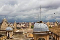 Stad av Rome Italien Arkivfoto