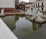 Stad av Rosario arkivfoton