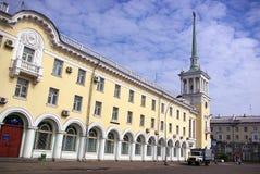 Stad av Ryssland, Angarsk Royaltyfria Bilder