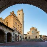 Stad av San Gimignano Royaltyfri Bild