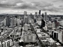 Stad av Seattle royaltyfri foto