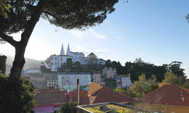 Stad av Sintra i Portugal Fotografering för Bildbyråer