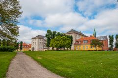 Stad av Soro i Danmark Arkivfoton