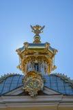 Stad av St Pererburge Slottarna och arkitekturen av staden Royaltyfri Fotografi