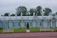 Stad av St Pererburge Slottarna och arkitekturen av staden Royaltyfri Bild