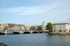 Stad av Stockholm Arkivbild