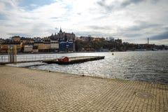 Stad av Stockholm Sverige Royaltyfri Fotografi