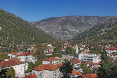 Stad av Stolac Arkivbild