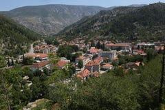 Stad av Stolac Royaltyfri Fotografi