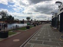 Stad av Szczecin royaltyfria foton