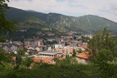 Stad av Travnik Royaltyfria Bilder
